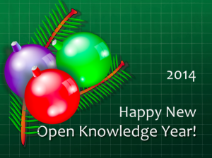 Happy New Open Knowledge Year